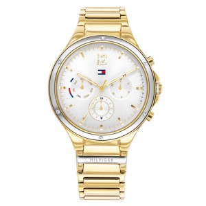 Tommy Hilfiger Eve 1782278 Quartz Multi function Plated stainless steel Crystals