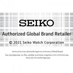Seiko Essential Time SUR371P1 Titanium Quartz  Bracelet