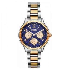Breeze Suprecious 712171.3 Quartz Multifunction Bimetallic stainless steel Bracelet Blue color dial