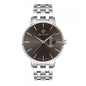 Gant Park Hill III G105005 Quartz Stainless steel Bracelet Brown color dial