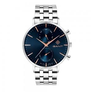 Gant Park Hill G121010 Quartz Multifunction Stainless steel Bracele Dark blue color dial