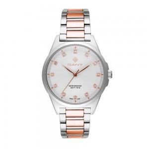 Gant Scarsdale G156003 Quartz Bimetallic Stainless steel Bracelet White color dial