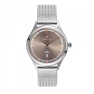Gant Naples G157003 Quartz Stainless steel Milanese bracelet Brown color dial