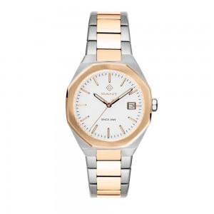Gant Quincy G164003 Quartz  Stainless steel Bracelet White color dial