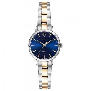 Gant Park Avenue 28 G126002 Quartz Bimetallic Stainless steel Bracelet Blue color dial