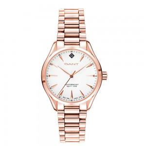 Gant Sharon G129005 Quartz Plated stainless steel  Bracelet White color dial