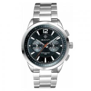 Gant Walworth G144005 Quartz Multifunction Stainless steal Bracelet Black color dial