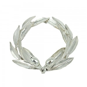 Decorative olive wreath made of 925 sterling silver  code 005499
