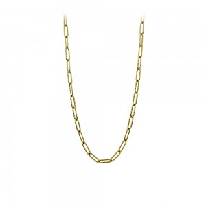 Necklace made of yellow gold plated Steel Code 008264