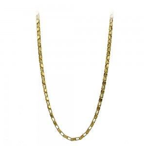 Necklace made of yellow gold plated Steel Code 008281