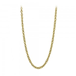Necklace made of yellow gold plated Steel Code 008284