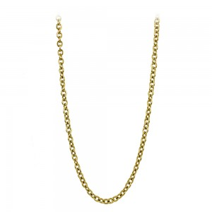 Necklace made of yellow gold plated Steel Code 008285