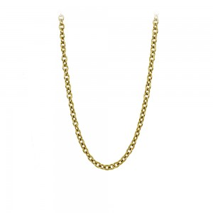 Necklace made of yellow gold plated Steel Code 008287