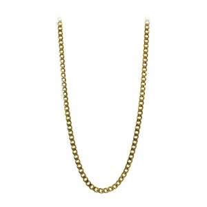 Chain made of yellow gold plated Steel Code 008288