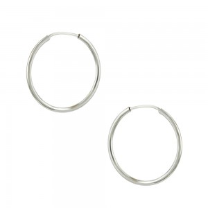 Earring rings White gold K14 Code 004471