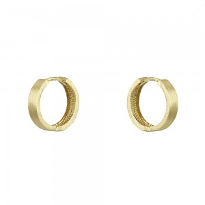 Earring rings Yellow gold K14 Code 004528