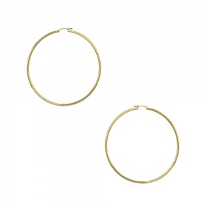 Earring rings Yellow gold K14 Code 005750