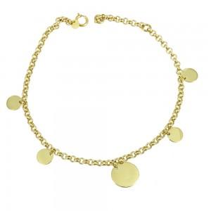 Bracelet Yellow  gold K14 Code 006375