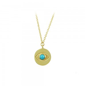 Necklace Yellow gold K14 Code 007273