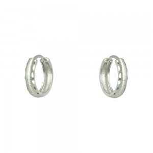 Earring rings White gold K14 Code 007343