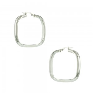 Earring rings White gold K14 Code 007467
