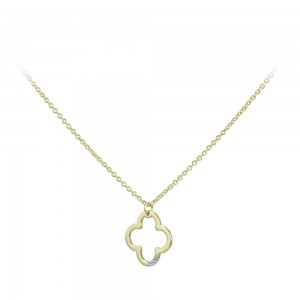 Cross with chain Yellow gold K14 and diamond Code 007562