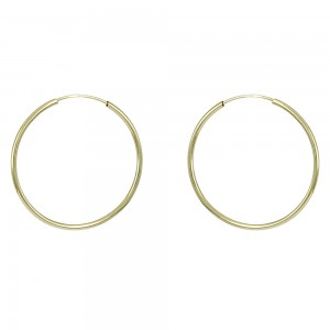 Earring rings Yellow gold K14 Code 008298