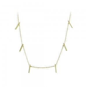 Necklace Yellow gold K14 Code 008492