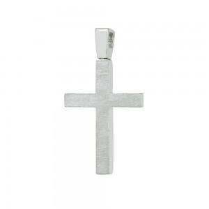 Men's cross Aneli collection White gold K14 Code 008628