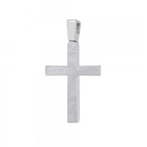 Men's cross Aneli collection White gold K14 Code 008630
