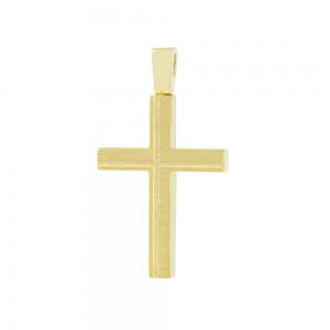 Men's cross Aneli collection Yellow gold K14 Code 008649