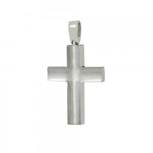 Men's cross Aneli collection White gold K18 Code 007078