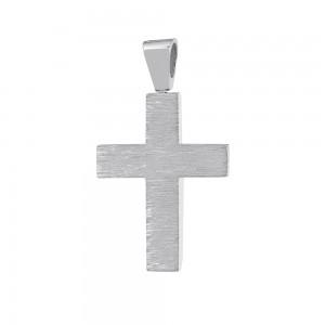 Men's cross Aneli collection White gold K18 Code 008656