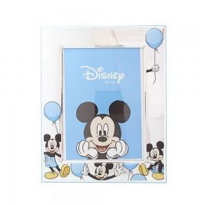 Silver photo frame Disney Mickey mouse  for boy Code 008044