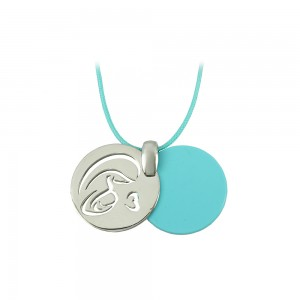 Pregnancy pendant of Silver 925 Plated Code 007679