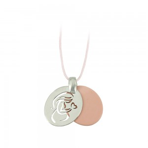 Pregnancy pendant of Silver 925 Plated Code 007682