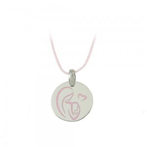 Pregnancy pendant of Silver 925 Plated Code 007685