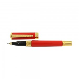 Pen Versace Olympia Roller Black 1.5mm  Code 007879 Yellow gold Plated