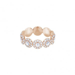 Swarovski Angelic ring Timeless Pink gold plated 5448854