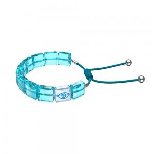 Woman's bracelet Swarovski Evil Eye 5614971 Rhodium plated