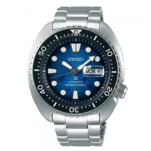 SEIKO Prospex Save the Ocean SRPE39K1 Automatic Stainless Steel Diving Bracelet