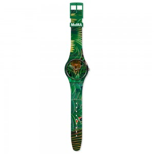 Swatch New Gent MoMA The dream by Henri Rousseau, The watch SUOZ333 Rubber strap