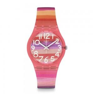 Swatch Astilbe GP140 Multi color rubber Strap