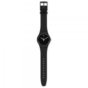 Swatch Think Time Black SO32B106 Quartz Bioceramic Black organic strap