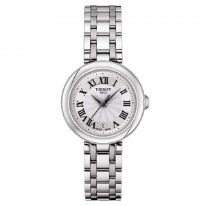 TISSOT Bellissima small Lady T1260101101300 Quartz Stainless steel Bracelet Silver color dial Latin numbered