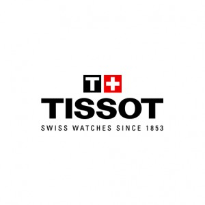 Tissot Carson Premium Lady T122.210.22.033.00 Quartz Two tone stainless steel Bracelet Plated bezel Silver color dial Latin numbered