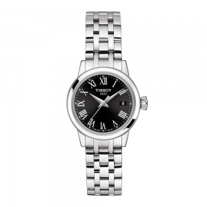 TISSOT Classic Dream Lady T129.210.11.053.00  Stainless steel Black color dial Latin numbered Quartz