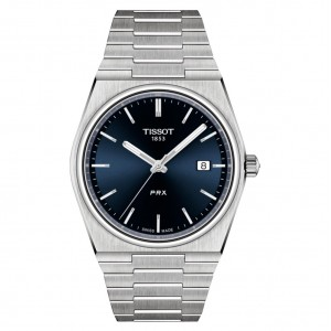 Tissot Prx T137.410.11.041.00 Quartz Stainless steel Bracelet Blue color dial