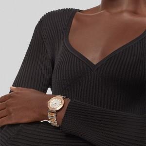 Versace Tribute VEVG00920 Quartz Bimetalic Stainless steel Bracelet