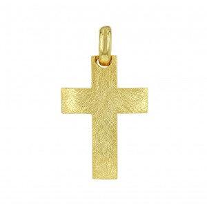 Men's cross  Aneli  collection K14 005125 Yellow gold